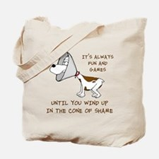 Cone of Shame Tote Bag