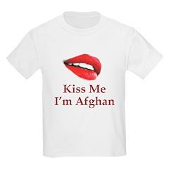 Kiss Me I'm Afghan T-Shirt