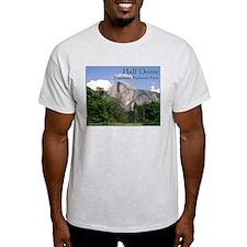 Half Dome, Yosemite - Ash Grey T-Shirt