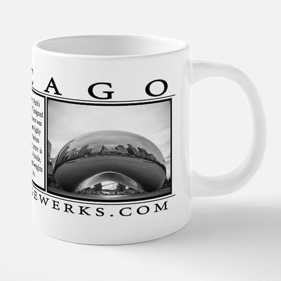 mug_double_photo_cloutgate_ 20 oz Ceramic Mega Mug
