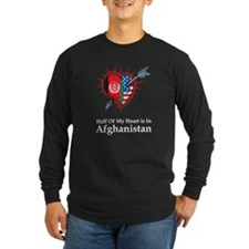 Half Heart Afghanistan T
