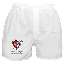 Half Heart Afghanistan Boxer Shorts