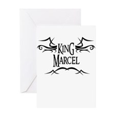 King Marcel Greeting Card