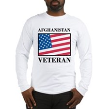 Afghanistan Veteran Long Sleeve T-Shirt