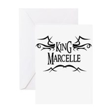 King Marcelle Greeting Card
