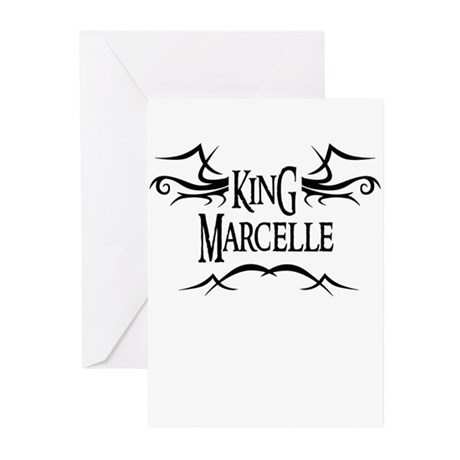 King Marcelle Greeting Cards (Pk of 10)