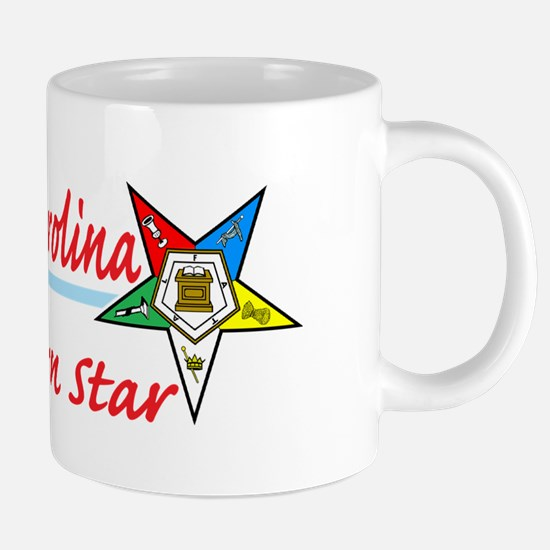 north carolina eastern star 20 oz Ceramic Mega Mug