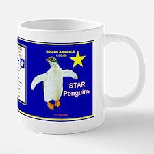 STAR Penguins mug logo- 20 oz Ceramic Mega Mug
