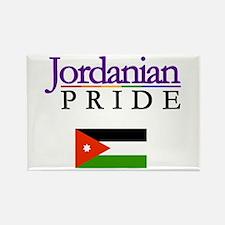 Jordanian Pride Flag Rectangle Magnet