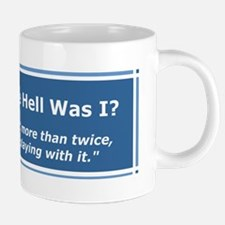 If you read it more than tw 20 oz Ceramic Mega Mug
