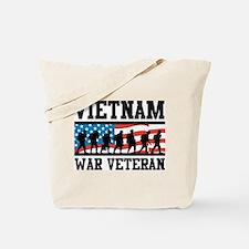 Vietnam War Veteran Tote Bag