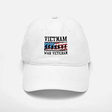 Vietnam War Veteran Baseball Baseball Cap