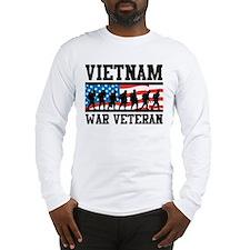 Vietnam War Veteran Long Sleeve T-Shirt