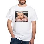 Angry Baby White T-Shirt