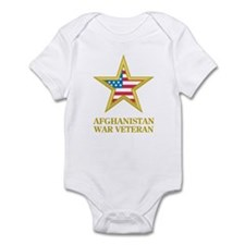 Afghanistan War Veteran Infant Bodysuit