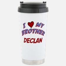 I Love My Brother Declan Travel Mug