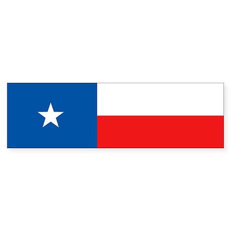 Flag of Texas Bumper Sticker