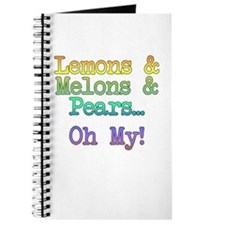 Lemons, Melons, and Pears, Oh My! Journal