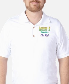 Lemons, Melons, and Pears, Oh My! Golf Shirt