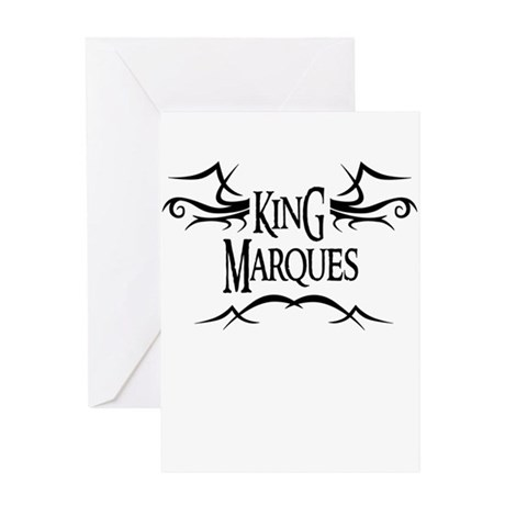 King Marques Greeting Card
