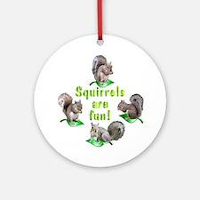 Squirrels Ornament (Round)