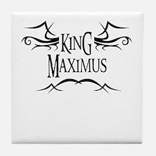 King Maximus Tile Coaster