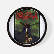 Orishas Wall Clock