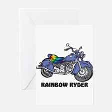 Rainbow Ryder Greeting Card