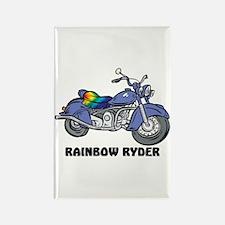 Rainbow Ryder Rectangle Magnet