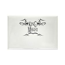 King Mekhi Rectangle Magnet