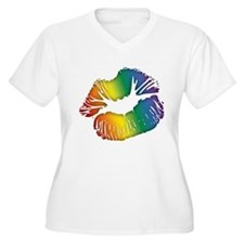 Big Rainbow Lips T-Shirt