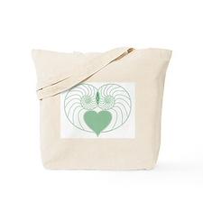 Nautilus Heart Tote Bag