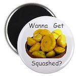 """Get Squashed 2.25"""" Magnet (10 pack)"""