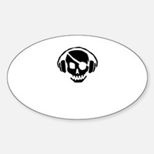The Jolly Roger... Waters? Oval Decal