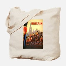 Vintage Travel Poster, Britain Tote Bag