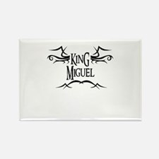King Miguel Rectangle Magnet
