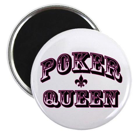 Poker Queen Magnet