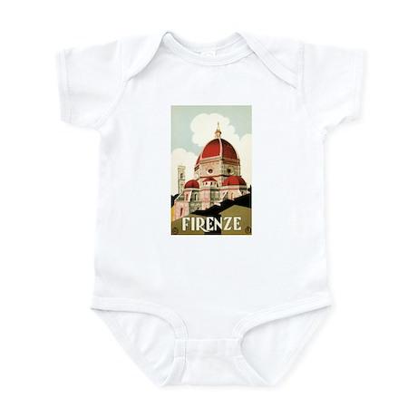 Vintage Travel Poster Firenze Infant Bodysuit