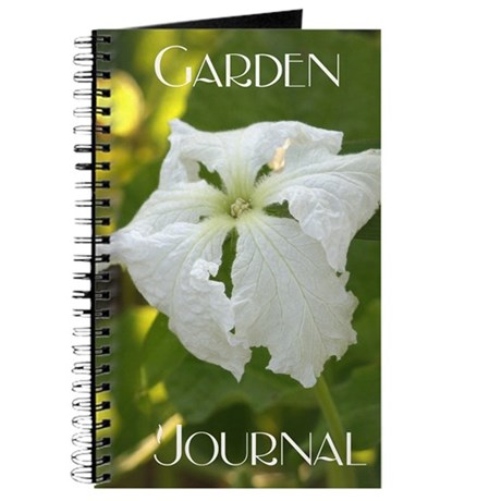 White Squash Flower Journal