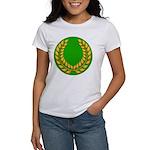 Green with Gold Laurel Women's T-Shirt