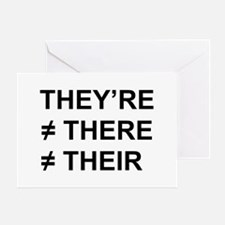 They're Not There Greeting Card