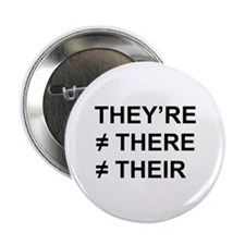 """They're Not There 2.25"""" Button"""