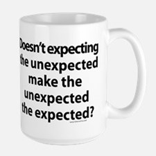 Expecting the unexpected? Mug