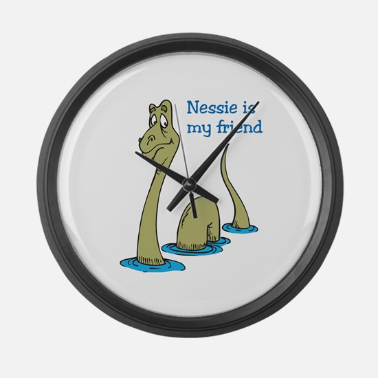Nessie Large Wall Clock