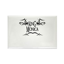 King Monica Rectangle Magnet