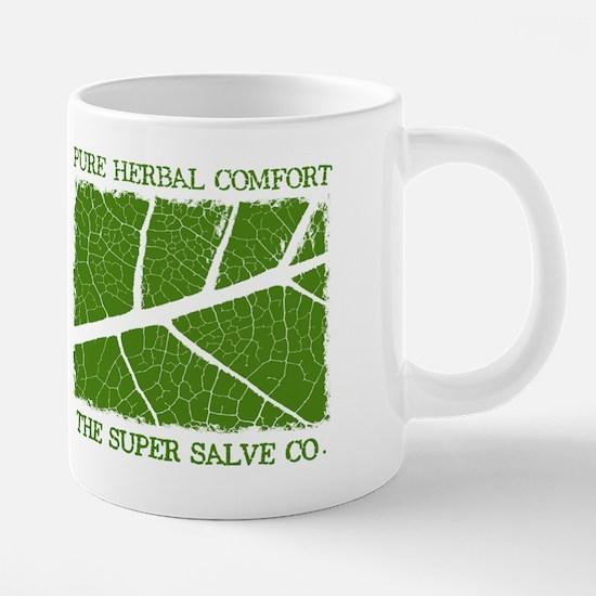 mug left Pure Herbal 20 oz Ceramic Mega Mug