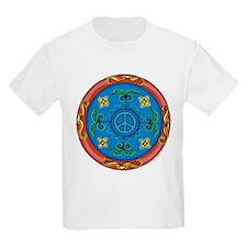 Medallion Peace Sign, Symbol T-Shirt