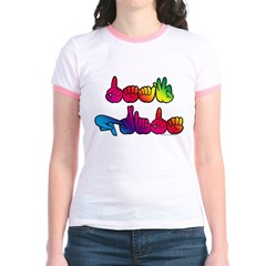Deaf Pride Rainbow T