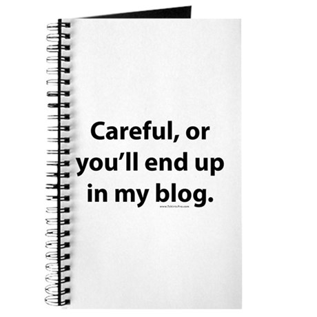 End up in my blog Journal