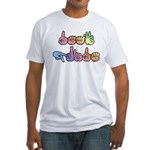 Deaf Pride Pastel Fitted T-Shirt